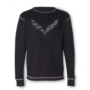 Vintage Corvette Thermal - Black