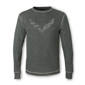 Vintage Corvette Thermal | Charcoal Heather