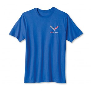 Z06 Tee - Heather Blue