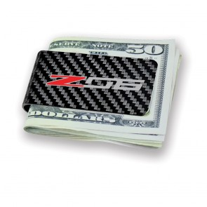 Z06 Carbon Fiber Money Clip - Black