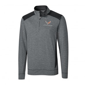 Coastline Quarter-Zip Fleece | Charcoal Heather