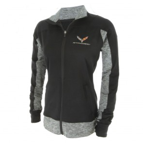 Stormtech Full-Zip Jacket | Black/Carbon Heather