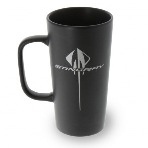 Stingray Latte Mug - Black-Matte