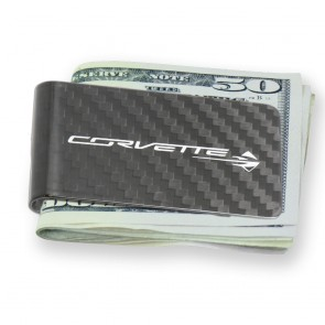 Stingray Carbon Fiber Money Clip - Carbon Fiber