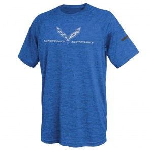 Grand Sport Performance Tee | Royal Blue