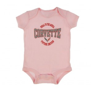 C7 Corvette Toddler Onesie | Pink