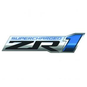 Supercharged Corvette ZR1 Sign
