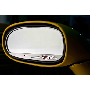 Corvette C6 Z06 Side View Mirror Set (Standard)