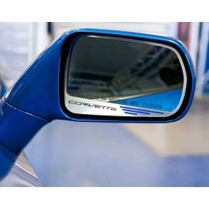 Corvette Stingray Side View Mirror Set (Auto-Dim)