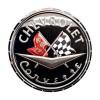 Corvette C1 Emblem Sign   1953 - 1962