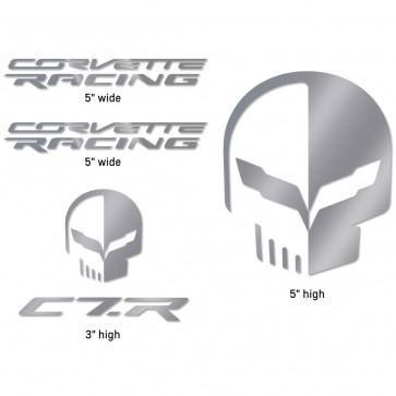 Corvette Racing/Jake Decal Pack - Silver