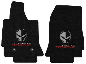 Corvette Racing Jake 2 Pc. Ultimat™ Floor Mat Set - Jet (2014 & up)