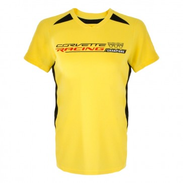Corvette Racing Ladies | 3 Year Champions Jersey | Electric Yellow/Black