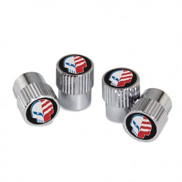 """American Made Jake"" Valve Stem Caps"