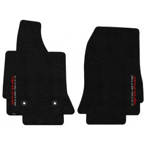 Corvette Racing 2 Pc. Ultimat™ Floor Mat Set - Jet (2014 & up)