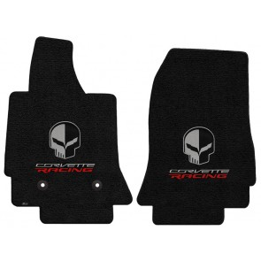 Corvette Racing Jake 2 Pc. Ultimat™ Floor Mat Set - Jet (2014 & up)