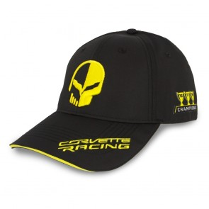 Corvette Racing | 3 Year Champions Cap | Black/Racing Yellow