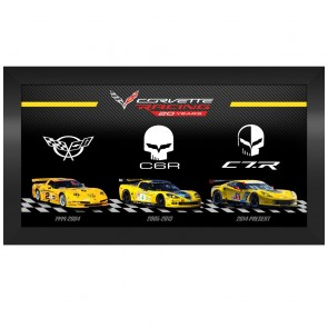 Corvette Racing 20 Years | Framed Print