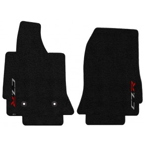 C7.R 2 Pc. Ultimat™ Floor Mat Set - Jet (2014 & up)