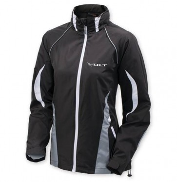 Volt Women's Colorblock Jacket - Black/White