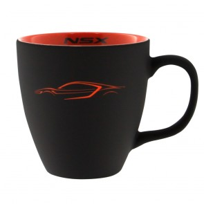 Acura NSX | Etched Profile Mug - Black/Orange