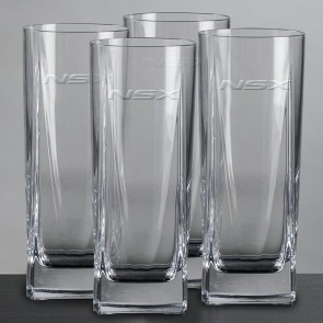Acura NSX | 4 Piece Glass Set -14 oz.