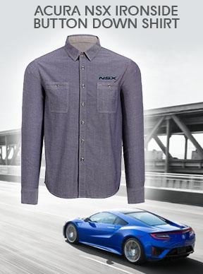 Acura NSX Ironside Button Down Shirt