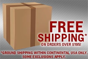 Free Shipping on Orders over $195